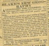 1831 newspaper - Boston advertising